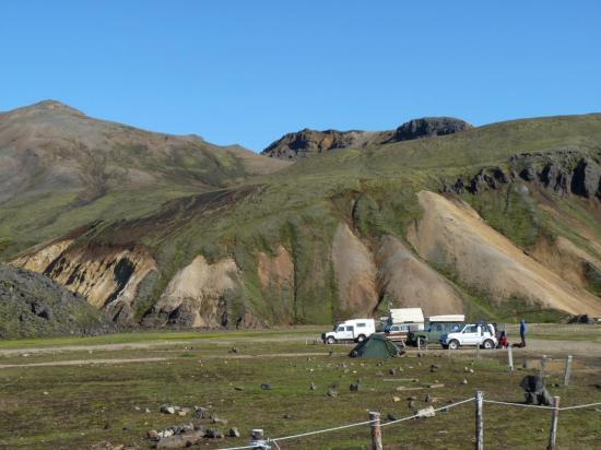 camping au landmanalaugar