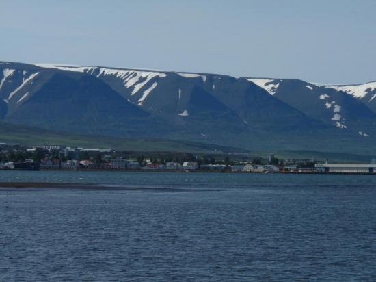 arrivée à Akureyri