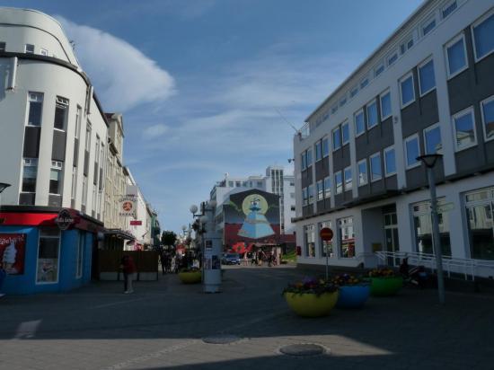 centre ville d'Akureyri