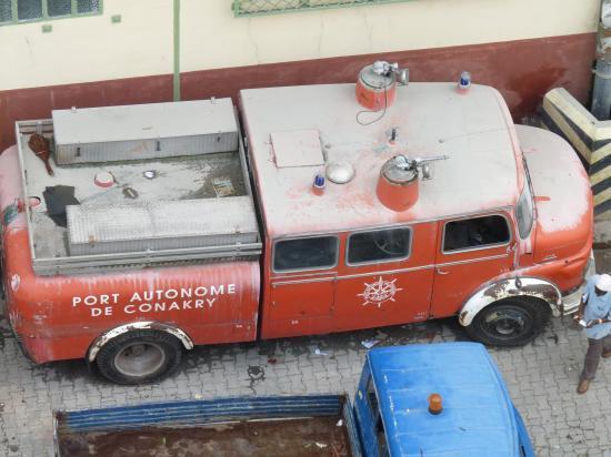 conakry camion de pompier