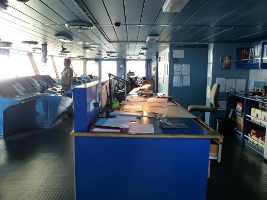 visite bateau pilotage