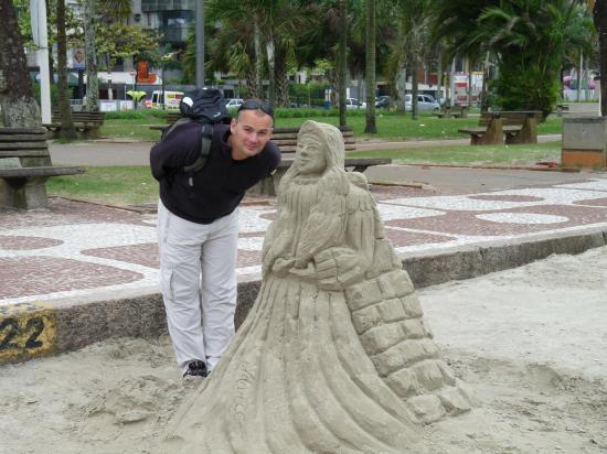 sculpture a santos
