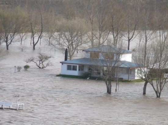 maison au bord du rio