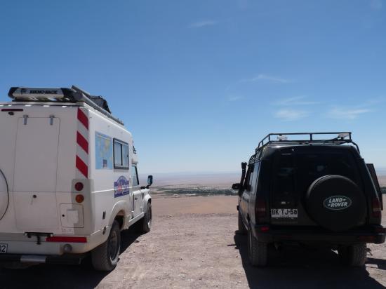 land dans le desert