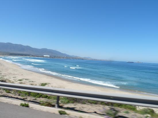 plage vers valparaiso