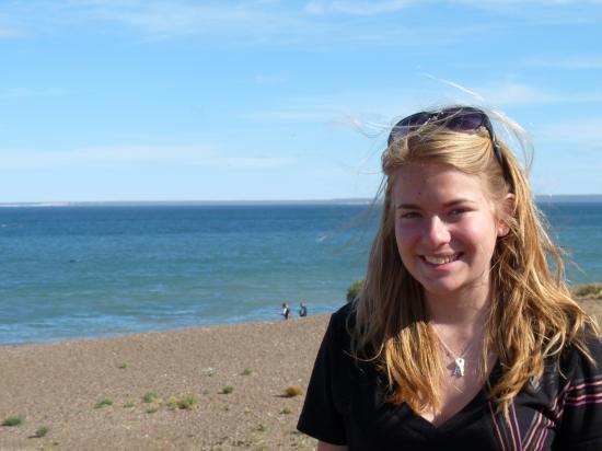 anaïs a la plage