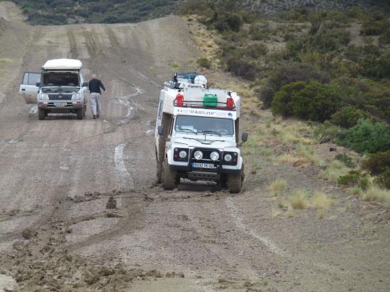 les pistes de la patagonie