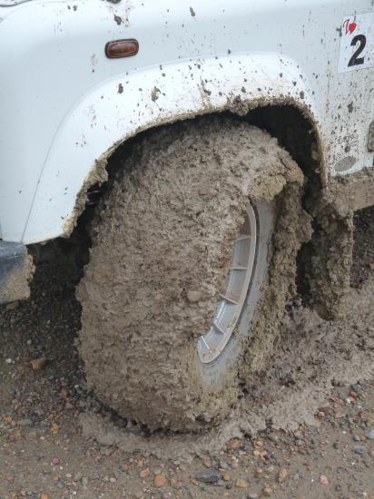 où est le pneu?