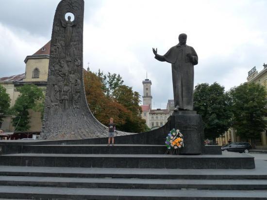 monument dédié aux martyrs ukrainiens