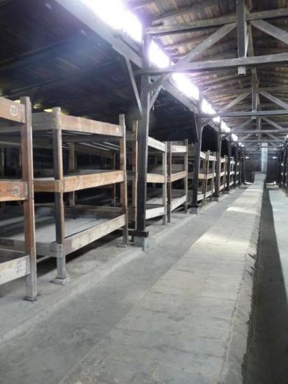 Auschwitz dortoirs