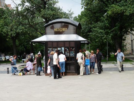 petit kiosque à LVIV