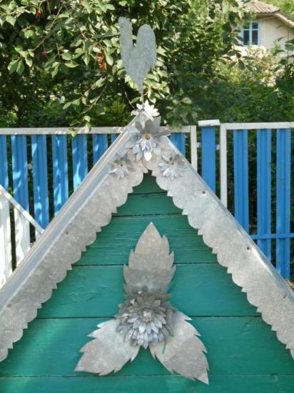 le toit d'un puit ukrainien