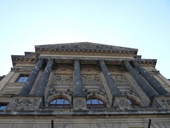 Prague devanture du muséum