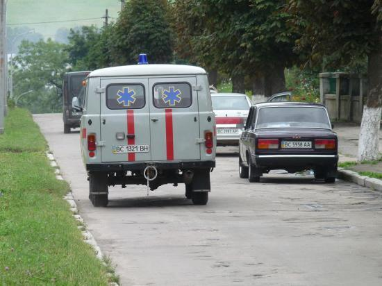 ambulance ukrainienne