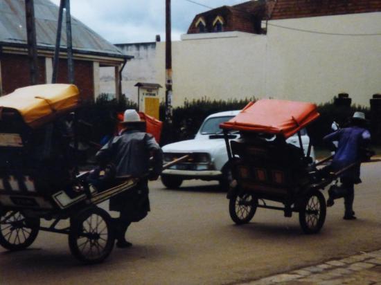 les pousse-pousses d'Antsirabe