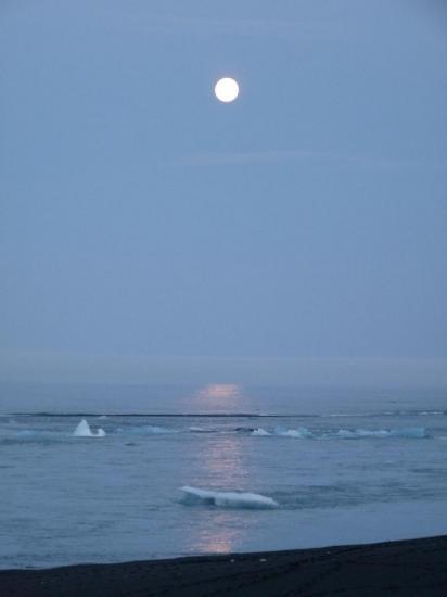 lune à minuit